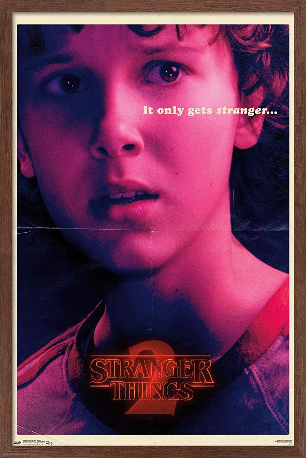 Sales of SALE items from new works Trends International Netflix Stranger Things: 2 Eleven - Season Max 84% OFF