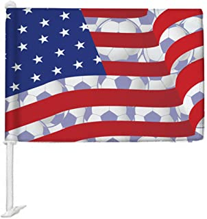 Best usa soccer car flag Reviews