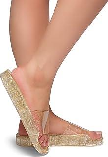 8f5507eba Gold Women s Slide Sandals