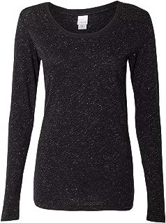 J. America - Women's Glitter Long Sleeve T-Shirt - 8236