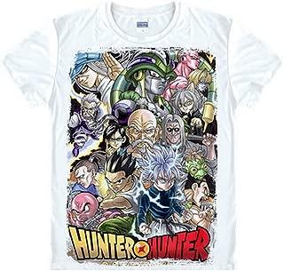 Hunter X Hunter Gon Freecss T-Shirt,Anime Silk Men's/Women's Cosplay T-Shirt