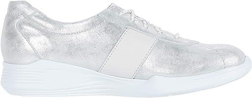 Silver/White Outsole