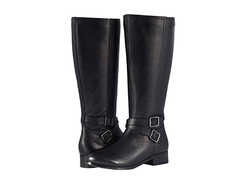 Trotters Liberty (Black Soft Tumbled Leather) Women
