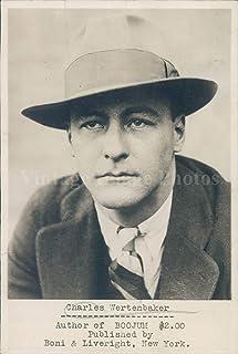 1929年写真 チャールズ・ウェルテンベーカー 著者ブジュム ジャーナリスト タイムポートレート ヴィンテージ