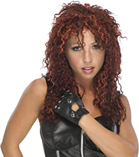 Red Rock Star Wig