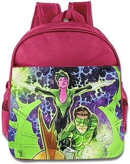 Niños linterna verde Corps de mochila escolar para niños bolso de escuela