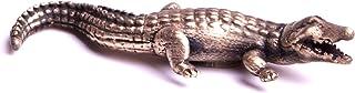 Figurine miniature crocodile objet de décoration reproduction animale une fabrication artisanale dans mon atelier By Mode ...
