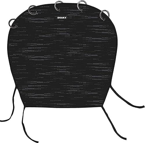 Dooky Universal Cover Matrix Protection solaire, protection contre les intempéries pour les sièges auto, poussettes e...