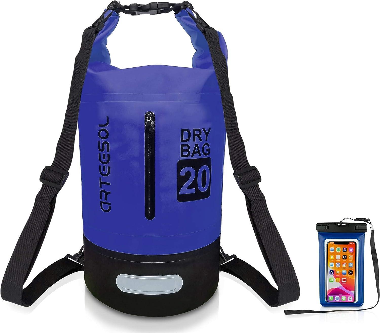 arteesol Easy-to-use Waterproof Dry Bag Seasonal Wrap Introduction 10L Backpack 5L Floating