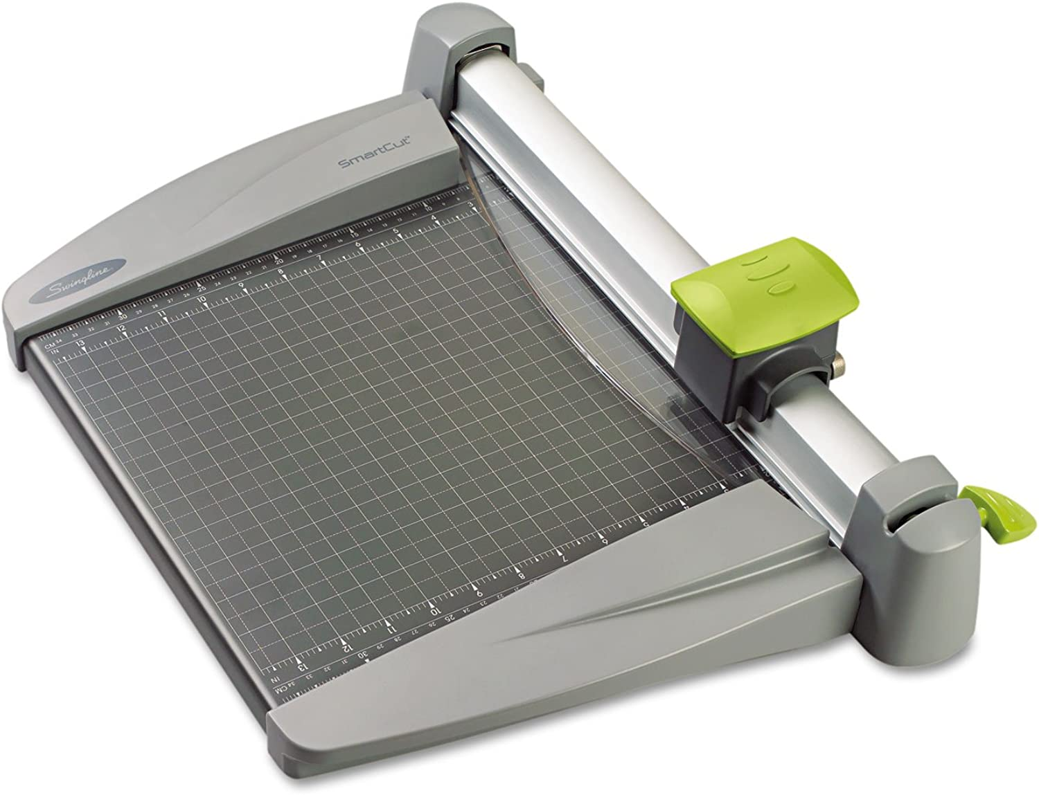 SmartCut Commercial Heavy-Duty redary Trimmer, 30 Sheets, Metal Base, 12  x 22