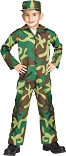 Jungle Camo Soldier Child Costume (Large)
