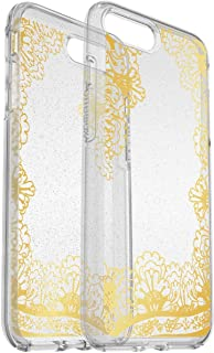 OtterBox Symmetry Series Case for iPhone 8 Plus & iPhone 7 Plus - Gold Lace Clear