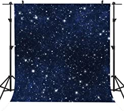 8x8FT Vinyl Wall Photography Backdrop,Outer Space,Colorful Gas Cloud Background for Baby Birthday Party Wedding Graduation Home Decoration