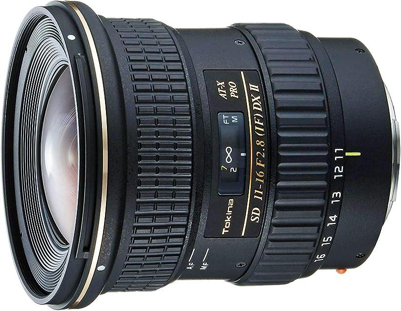 Tokina 11 PRO DX2 - Objetivo para Canon (distancia focal 11-16 mm apertura f/2.8-22 diámetro: 77 mm) negro