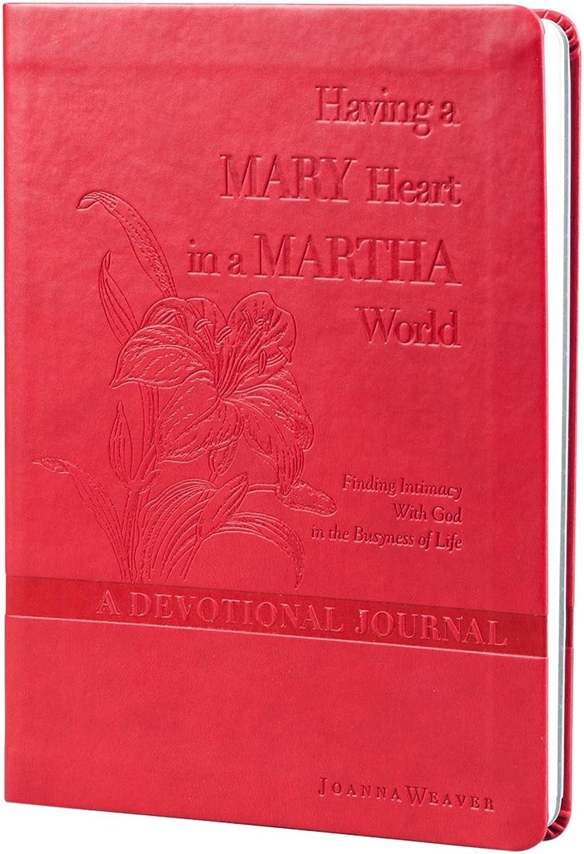 Dayspring undatiert geführte Hingabe Tagebuch – Ein Mary Herz Herz Herz in einer Martha World by Joanna Weaver (79762) B00Z0UE77W   Clever und praktisch  cd07b8