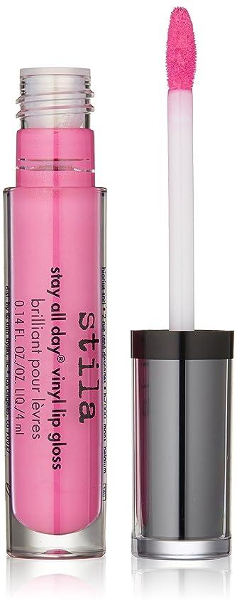 ホテル歩行者将来のスティラ Stay All Day Vinyl Lip Gloss - # Hot Pink Vinyl 4ml/0.14oz並行輸入品
