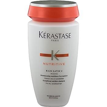 Kerastase Nutritive Bain Satin 2 Complete Nutrition Shampoo For Dry and Sensitised Hair, 8.5 Oz.