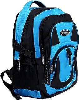Mochila Mochila Grande para Colegio, Deporte, Tiempo Libre y Viajes 34L Azul Incluye Compartimento para portátil