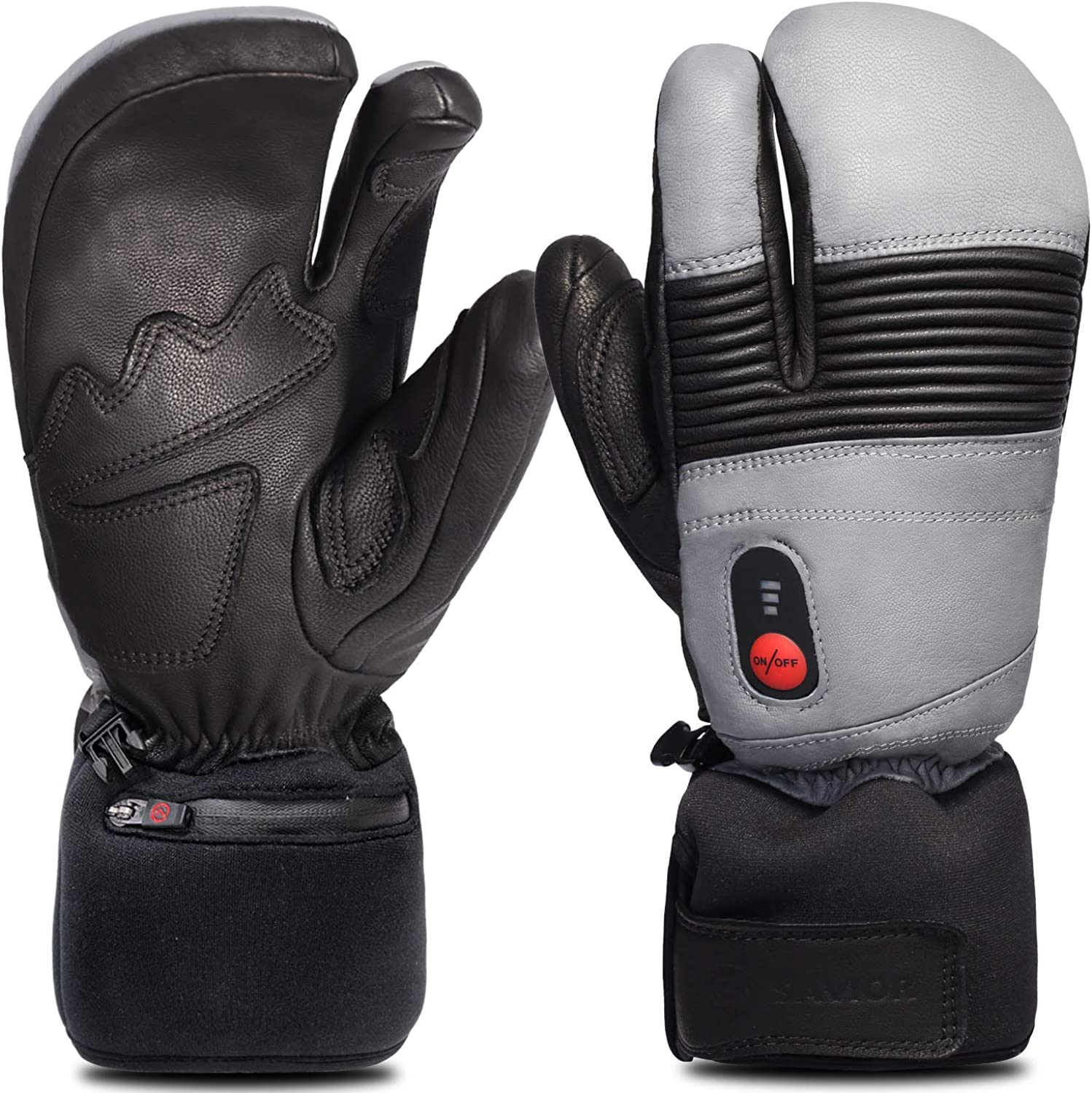 Electric Heated Mittens Battery Ski Rechargeable Max 60% OFF Gloves USB Moto gift