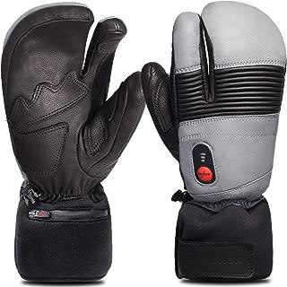 Savior Heated Mittens for Men Women, Battery Heated Gloves,Heated Ski Gloves