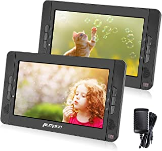 """comprar comparacion Pumpkin 2 Reproductores DVD Portátil Coche / Casa- 10.1 """" reposacabezas con Dos Pantallas soporta USB/ SD/ CD/ TV, 5 Horas..."""