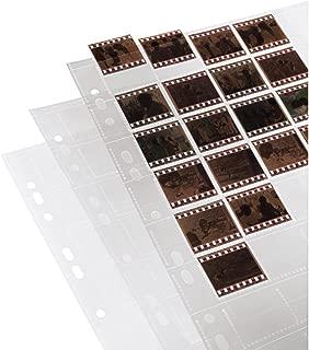 Hama Negative/Unmounted Slide File Storage Sleeves, Each Holding 40 Single 24 x 36 mm Frames, Polypropylene (Pack of 25)