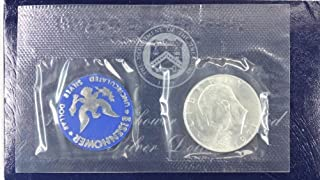1971 S Eisenhower IKE Dollar 40% Silver Comes in original US mint packaging Dollar UNC US Mint