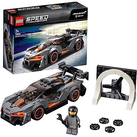 LEGO 75892 SpeedChampions McLarenSenna, Set de Construction, modèle de Pack d'extension Forza Horizon 4