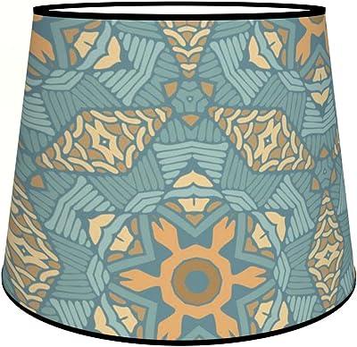 Abat-jours 7111309188665 Conique Marek Lampadaire, Tissus/PVC, Multicolore