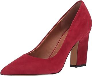 Franco Sarto Women's Sasha Pump, Crimson, 8.5