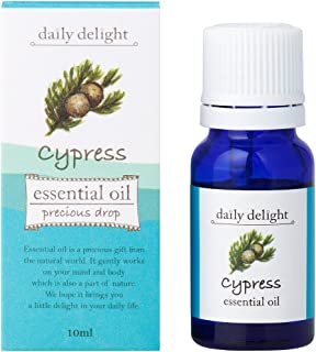 デイリーディライト エッセンシャルオイル  サイプレス 10ml(天然100% 精油 アロマ 樹木系 森林浴をしているかのようなすがすがしい香り)