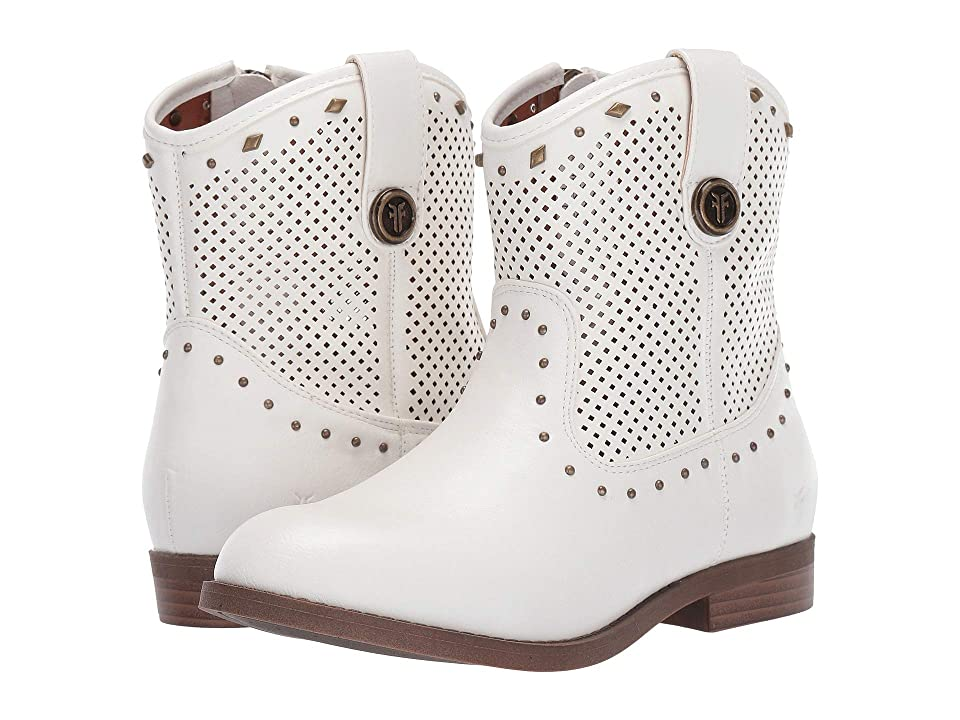 Frye Kids Mel Tri Stud (Little Kid/Big Kid) (White) Girls Shoes