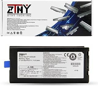 ZTHY Laptop Battery CF-VZSU29 for Panasonic Toughbook Cf-29 Cf-51 Cf-52 CF-VZSU29A CF-VZSU29R CF-VZSU29AU CF-VZSU29ASK CF-VZSU29ASR Cf-52CCABXBM Cf-VZSU65U 11.1V 9-Cell