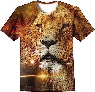 LAIDIPAS Unisex Shirts Animal Summer