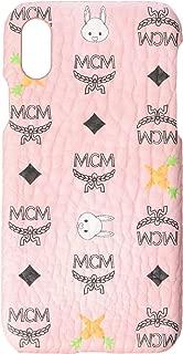MCM Unisex Rabbit Smart Phone Case Soft Pink One Size