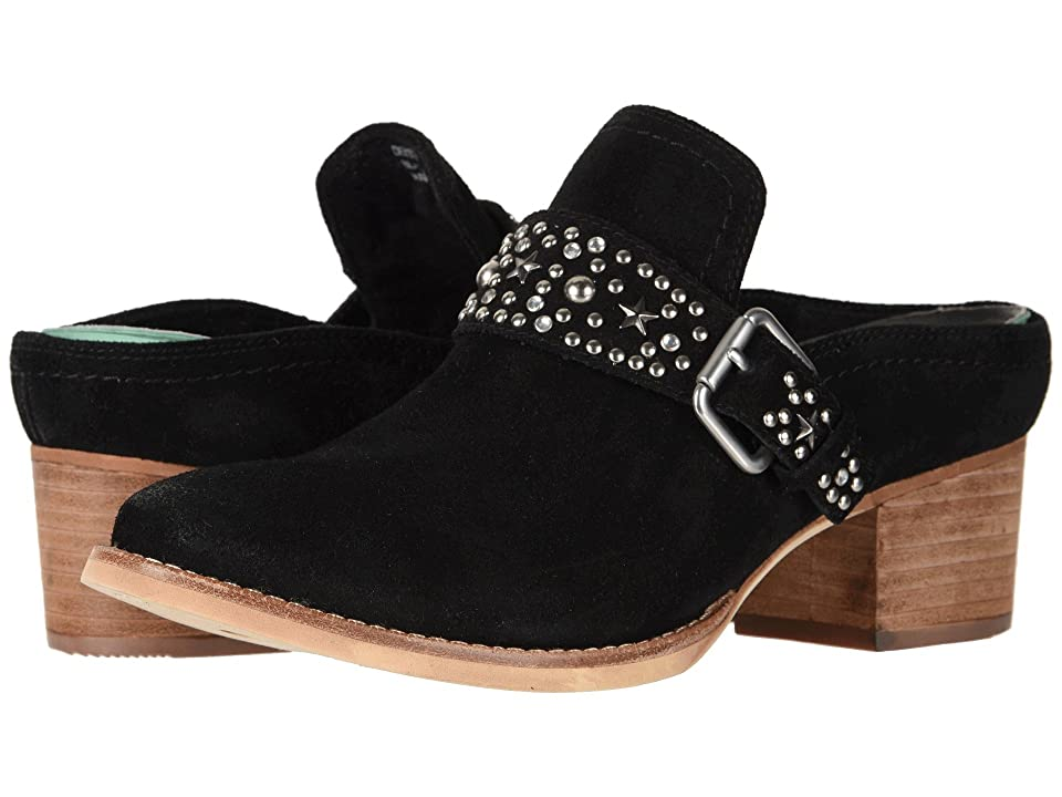 Earth Denton (Black Suede) Women
