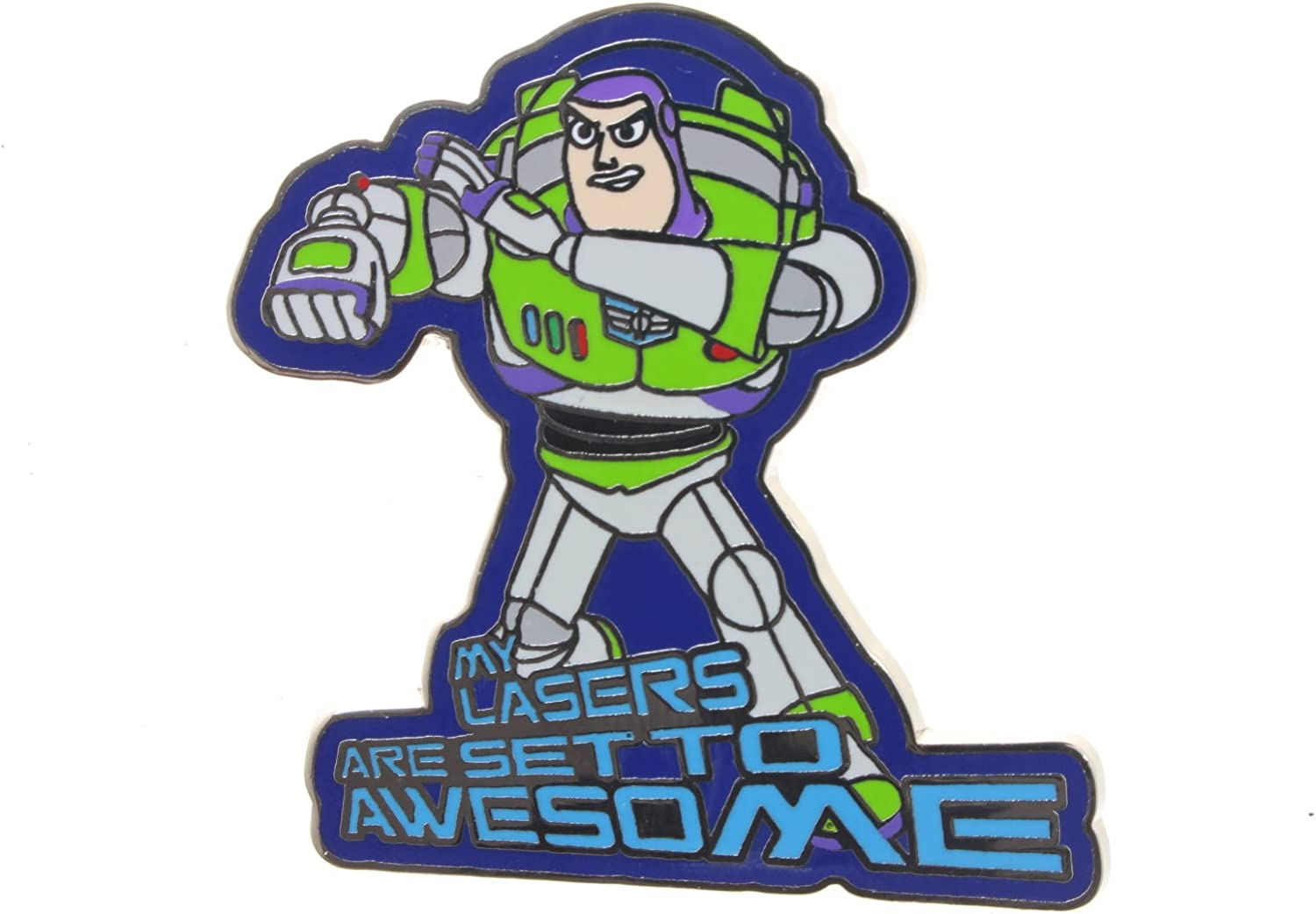 Disney Toy Story Buzz Lightyear - My Lasers Are Set to Awesome Pin