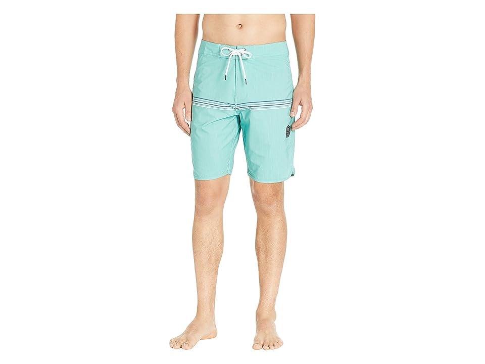 VISSLA Dredges Four-Way Stretch Boardshorts 20 (Jade) Men