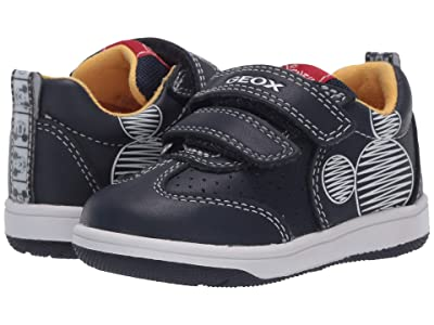 Geox Kids New Flick 16 Mickey Mouse (Toddler) (Navy) Boy