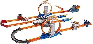Hot Wheels BGX89 Track Builder Total Turbo Takeover Track Set
