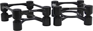 IsoAcoustics Aperta Isolation Stands - Black (Pair) (Packaging May Vary)