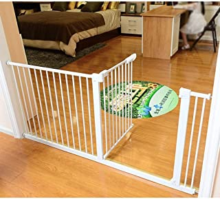 Expandable Baby Gates for Stairs Fence Dog Fence Indoor Pet Isolation Door Bar Home Free Punch Dual Lock Self Closing