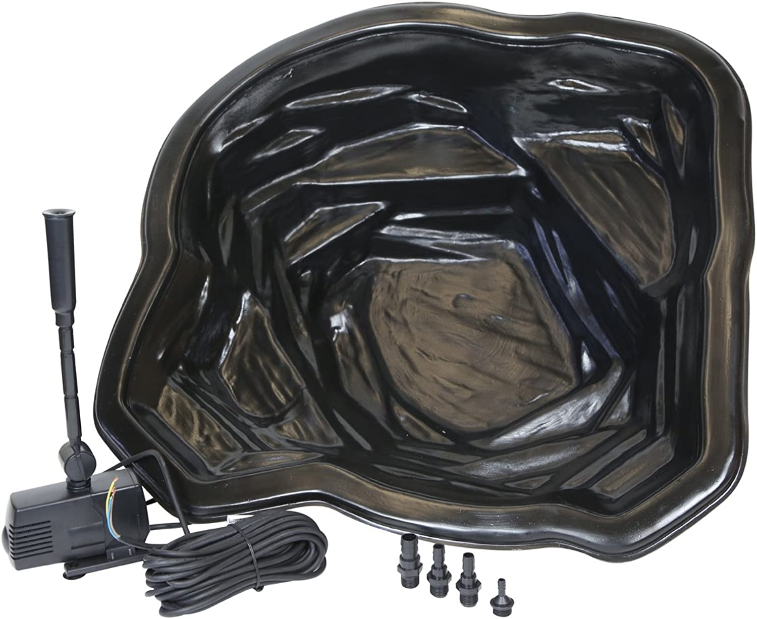 65 Litre Starter Garden Pond Kit with Quality 600 LPH Fountain Pump
