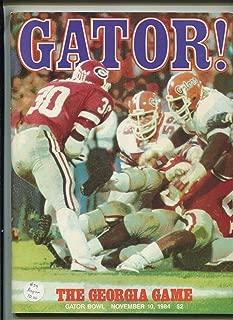 Gator Program - Gator Bowl The Georgia Game Nov.10,1984 MBX103