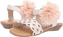Sandal with Chiffon Flower - Walk (Infant/Toddler)