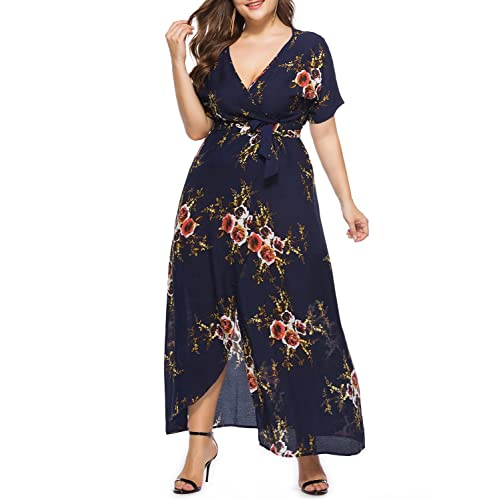 Just Blue New Teal or Plum Floral Print A Line Dress 3//4 Length Sleeves