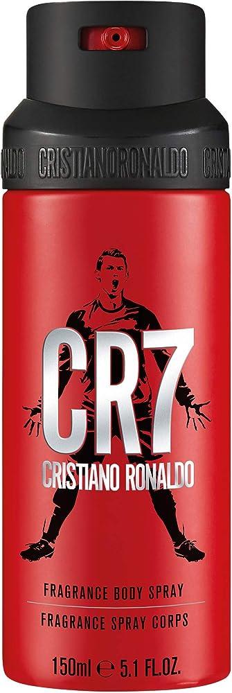 Cristiano ronaldo cr7, spray per il corpo, 150 ml CR770036