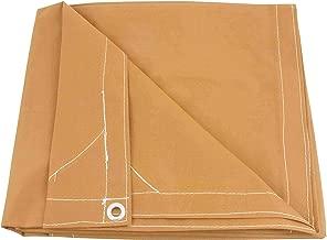 12' x 20' Tan Canvas Tarp 12oz Heavy Duty Water Resistant