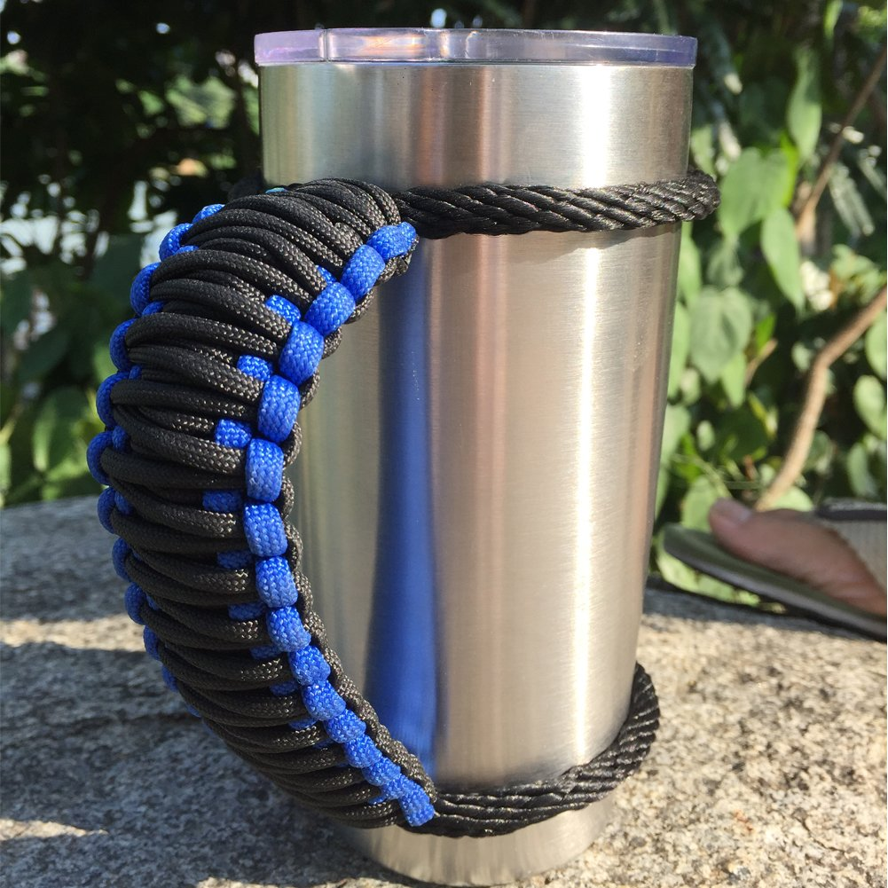 RTIC /& Ozark Red White /& Blue Pattern 20oz Yeti Details about  /Paracord Handle for 40 30