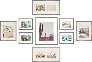 مجموعة إطارات جدارية من معرض الصور العائمة 9 قطع من Gallery Perfect